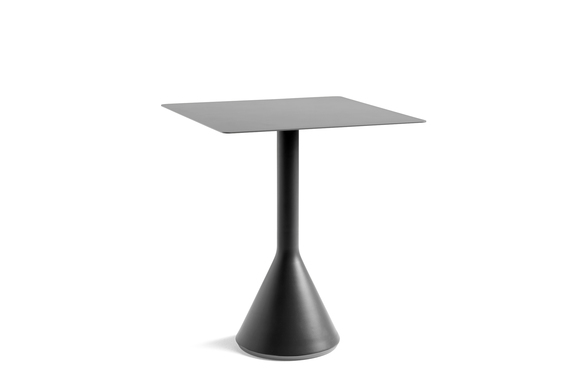 Hay Palissade Cone Table 65x65 Anthracite