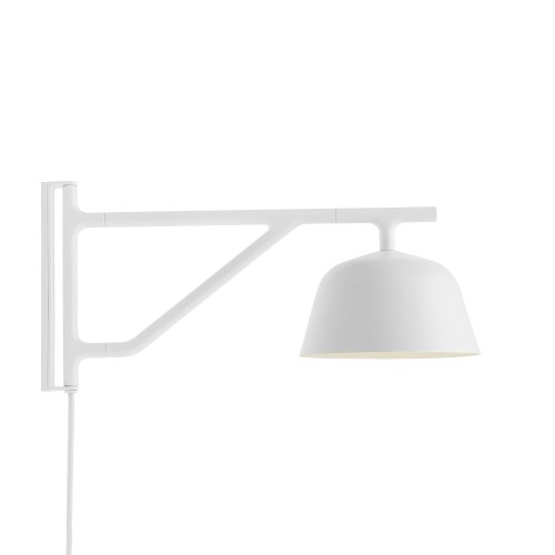 Ambit wall lamp white