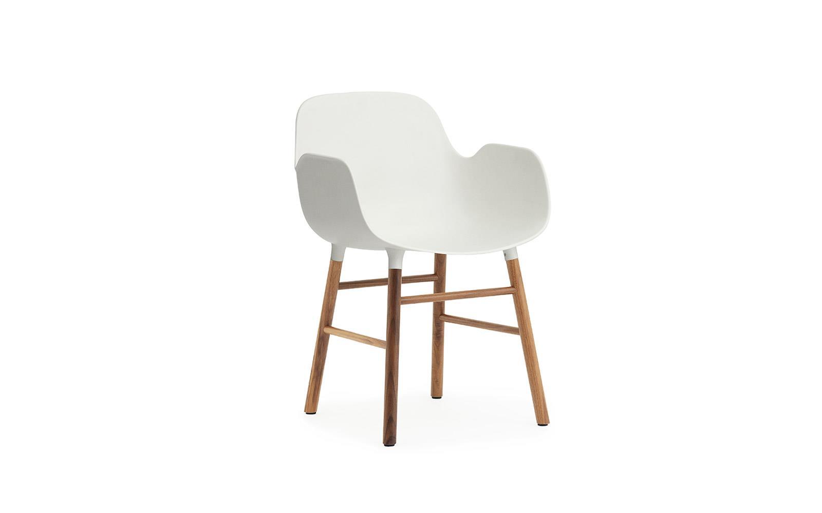 Normann CPH Form Armchair Wood Walnut