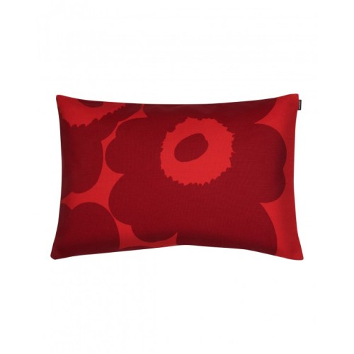 Unikko cushion cover 40x60cm red/ dark red