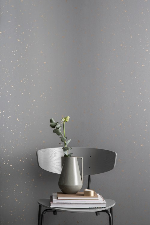 Ferm Living behang Confetti Mint