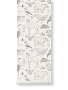 Ferm Living behang Katie Scott Animals Off-white