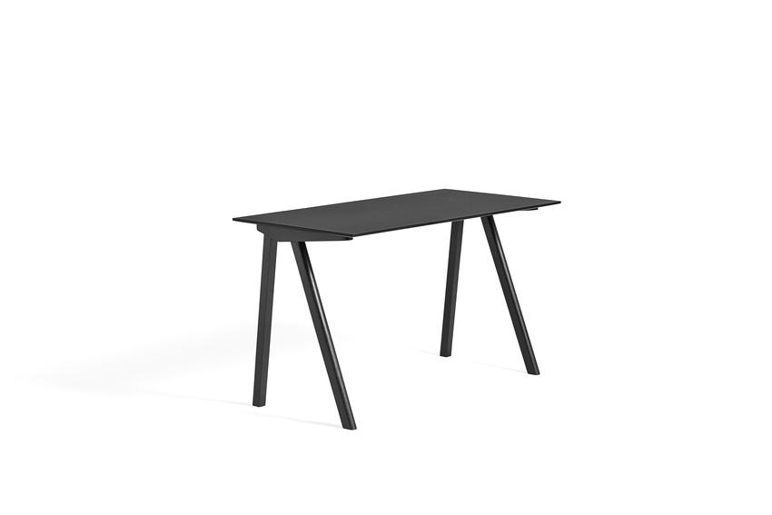 Hay CPH 90 Desk Black Linoleum Black Stained Oak