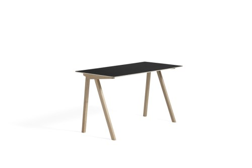 Hay CPH 90 Desk Black Linoleum Soaped