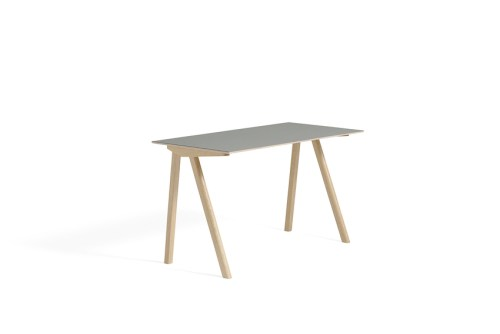 Hay CPH 90 Desk Grey Linoleum Matt Lacquered