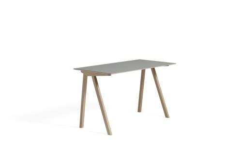 Hay CPH 90 Desk Grey Linoleum Soaped