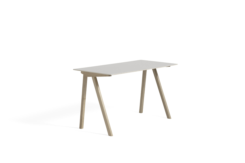Hay CPH 90 Desk Off White Linoleum Soaped
