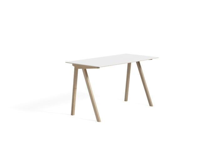 Hay CPH 90 Desk White Laminate Soaped