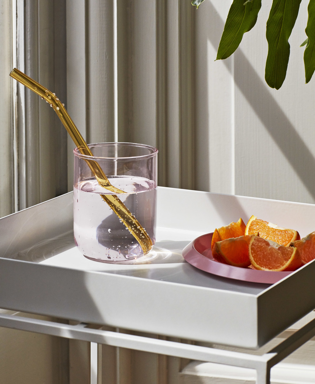 Hay Sip Dot Glass Straws Set of 6