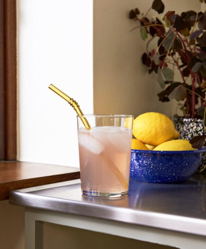 Hay Sip Swirl Glass Straws set of 6