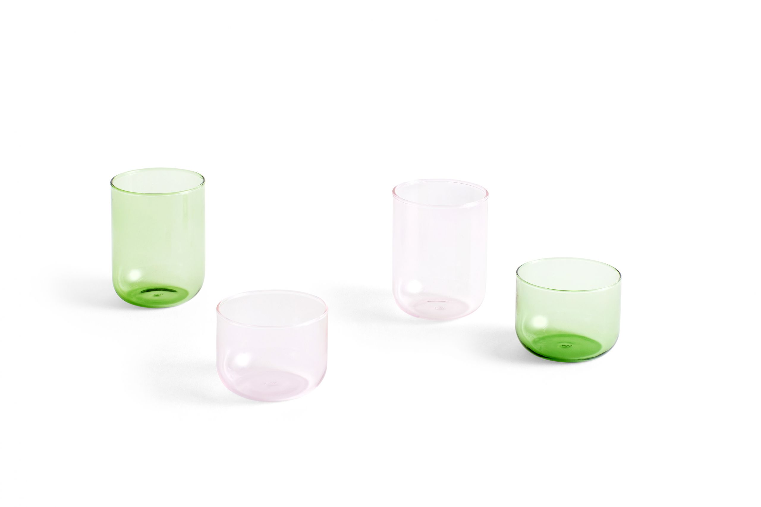 Hay Tint Glass Pink set of 2