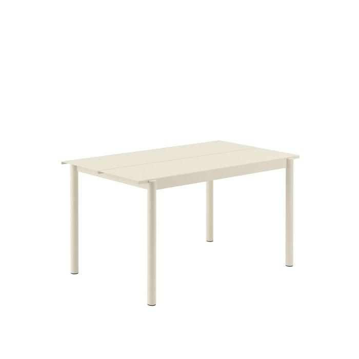 Muuto Linear Steel Table 140 Off-white