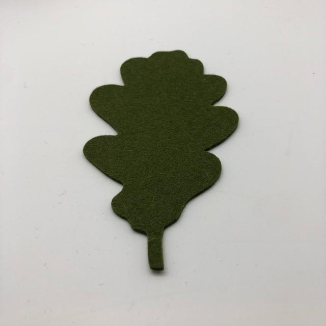 Onderzetter blad oak olive 24