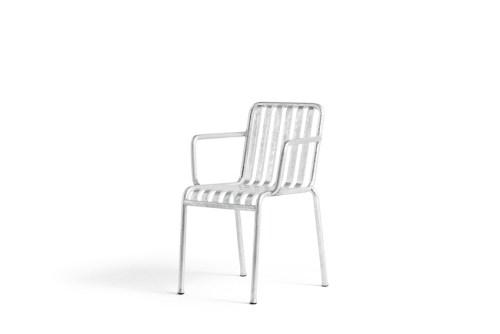 Hay Palissade Arm Chair Hot Galvanised