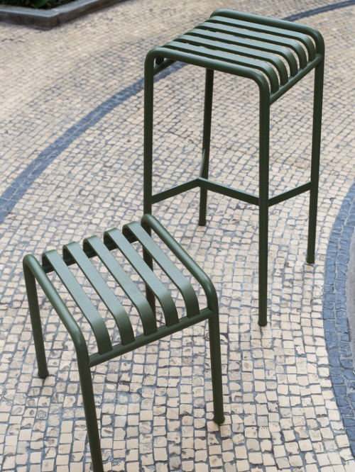 Hay Palissade Stool Anthracite