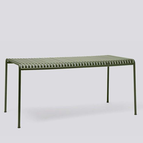 HAY Palissade Table Large Olive
