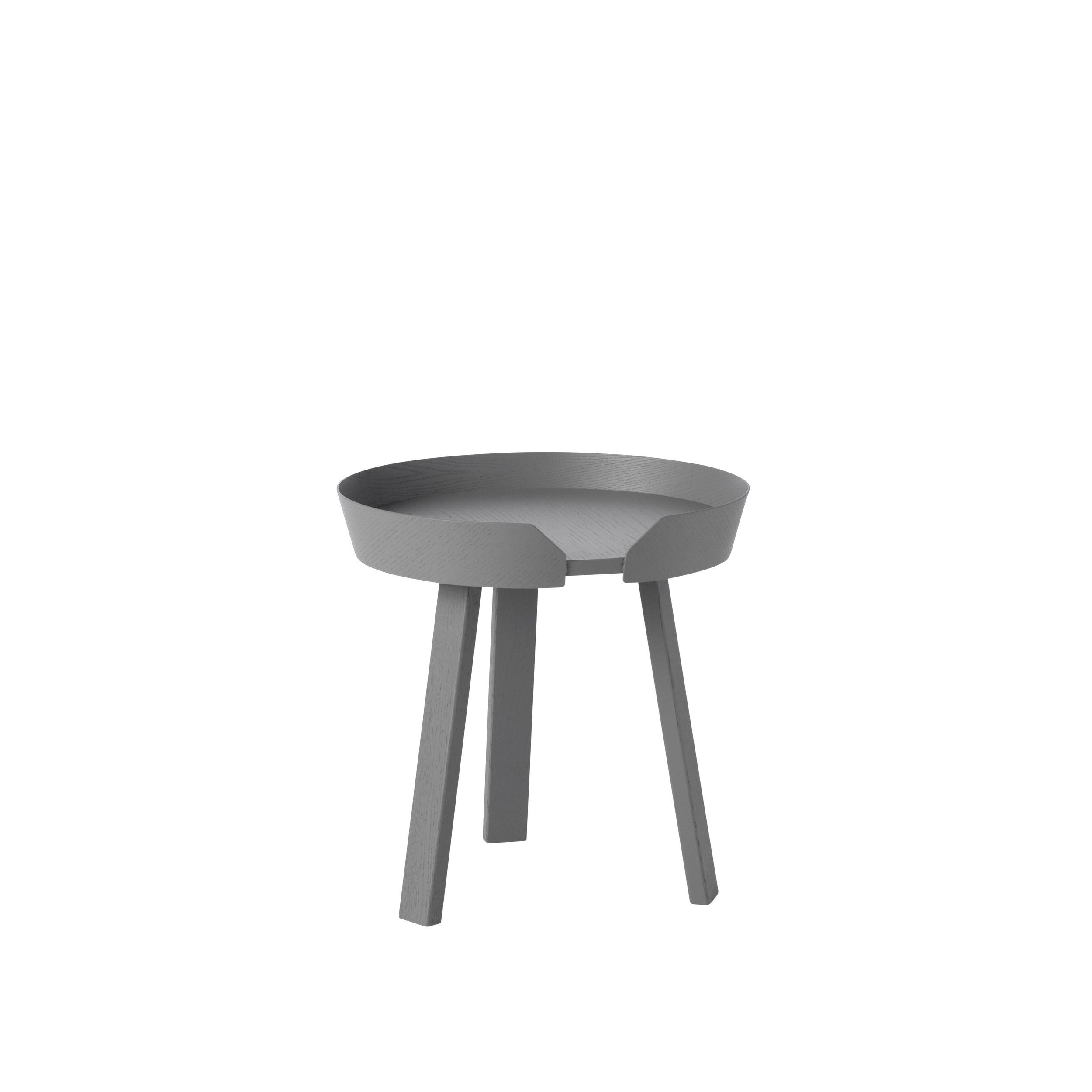 Around coffee table small dark grey