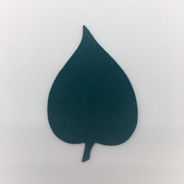 Onderzetter blad linden jade 49