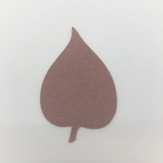 Onderzetter blad linden powder 51