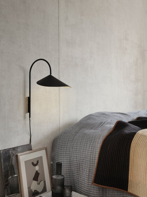 Ferm Living Arum Wall Lamp Black
