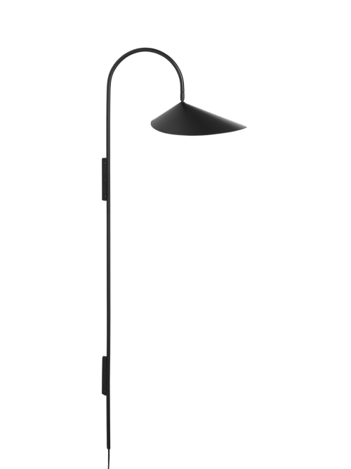 Ferm Living Arum Wall Lamp Tall Black