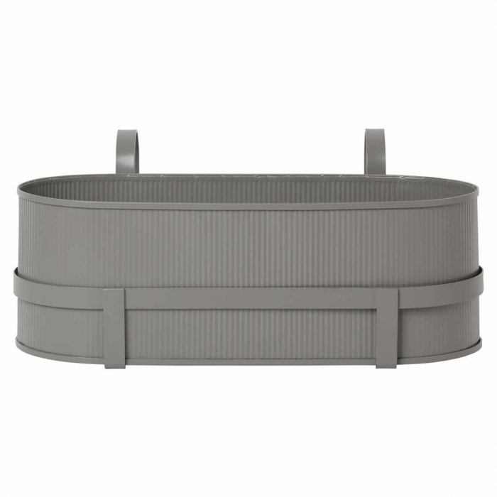 Ferm Living Bau Balcony Box Warm Grey