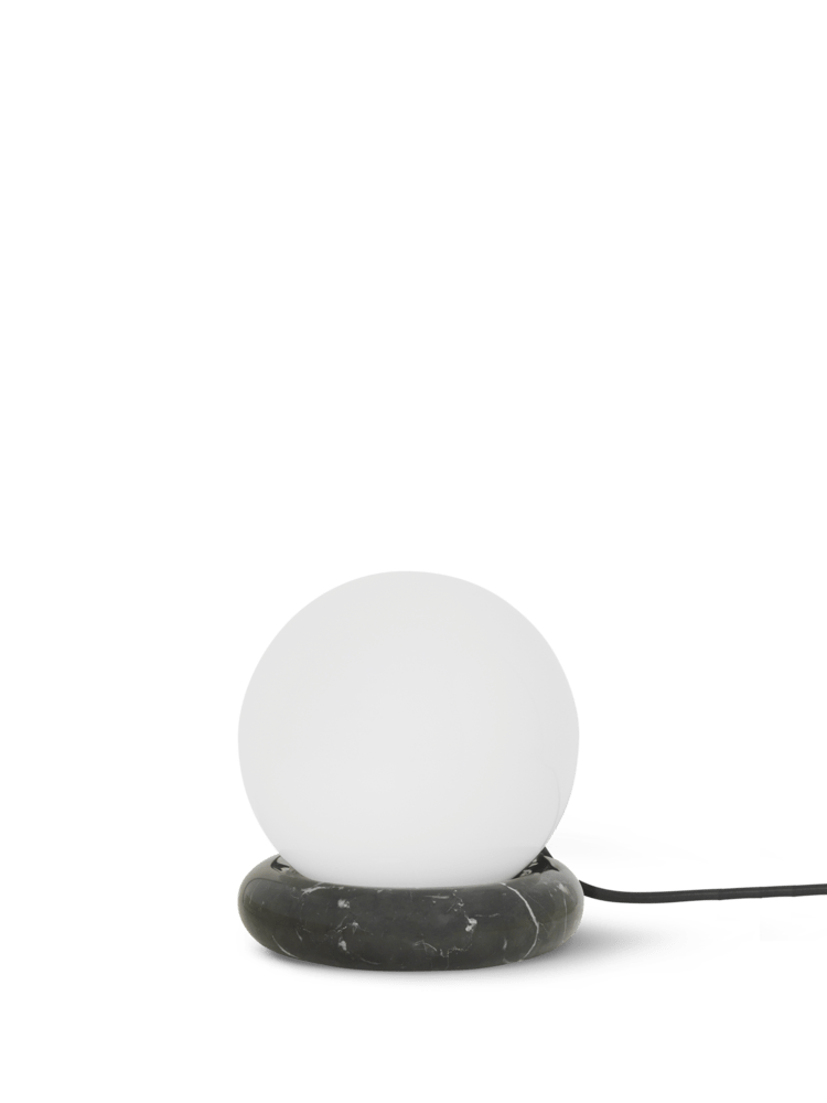 Rest lamp black marble
