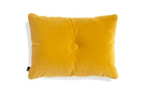 Dot cushion soft yellow