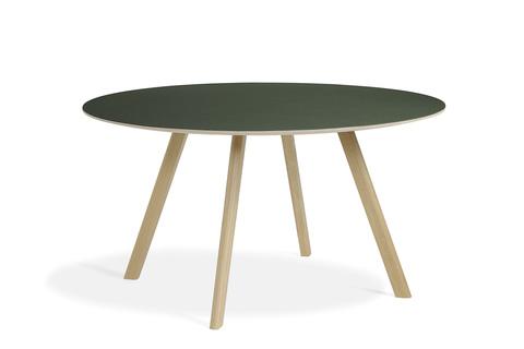 Hay CPH25 Table Round 140 Green Linoleum/Matt