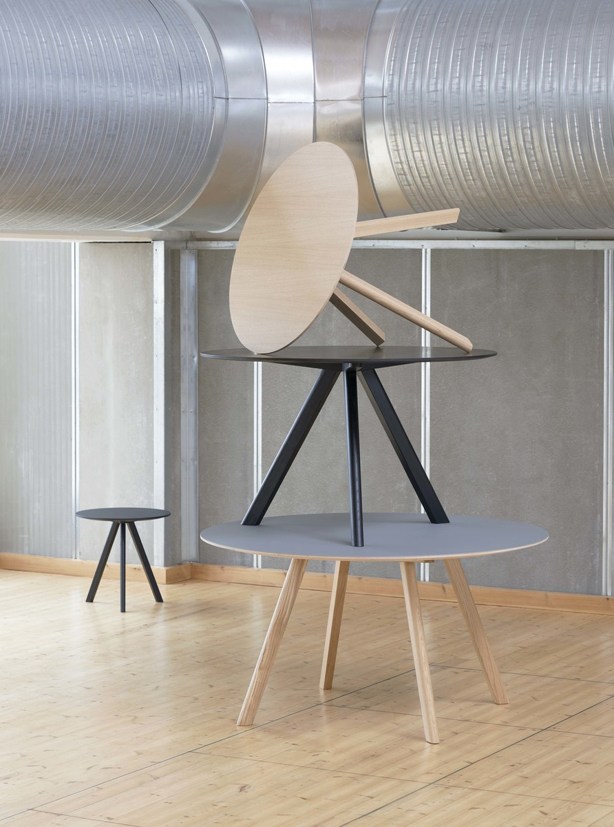 Hay CPH 20 Table Round 120 Green/Soaped