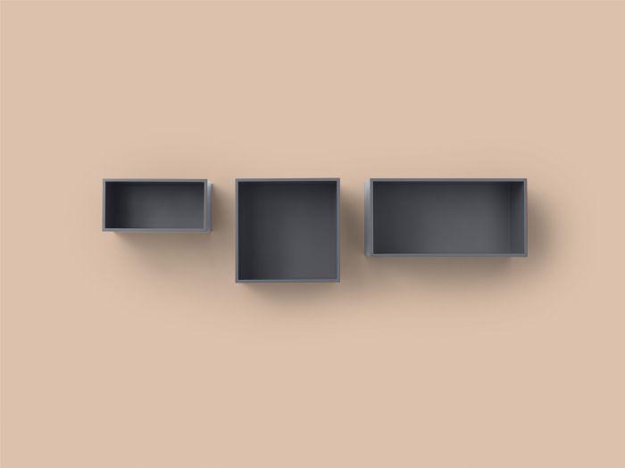 Mini stacked 2.0 small grey