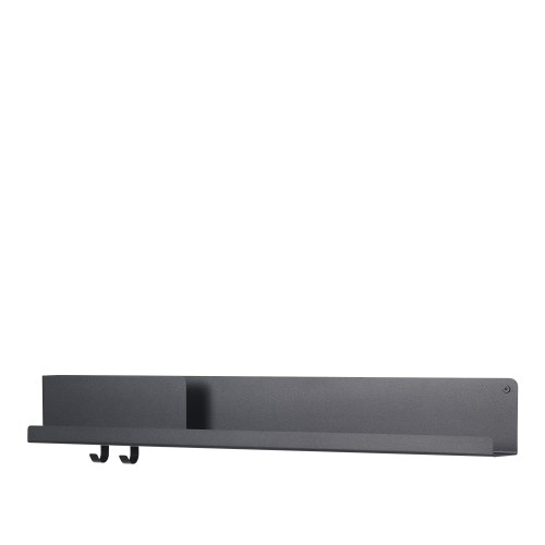 Muuto Folded Shelf Large Black 96cm