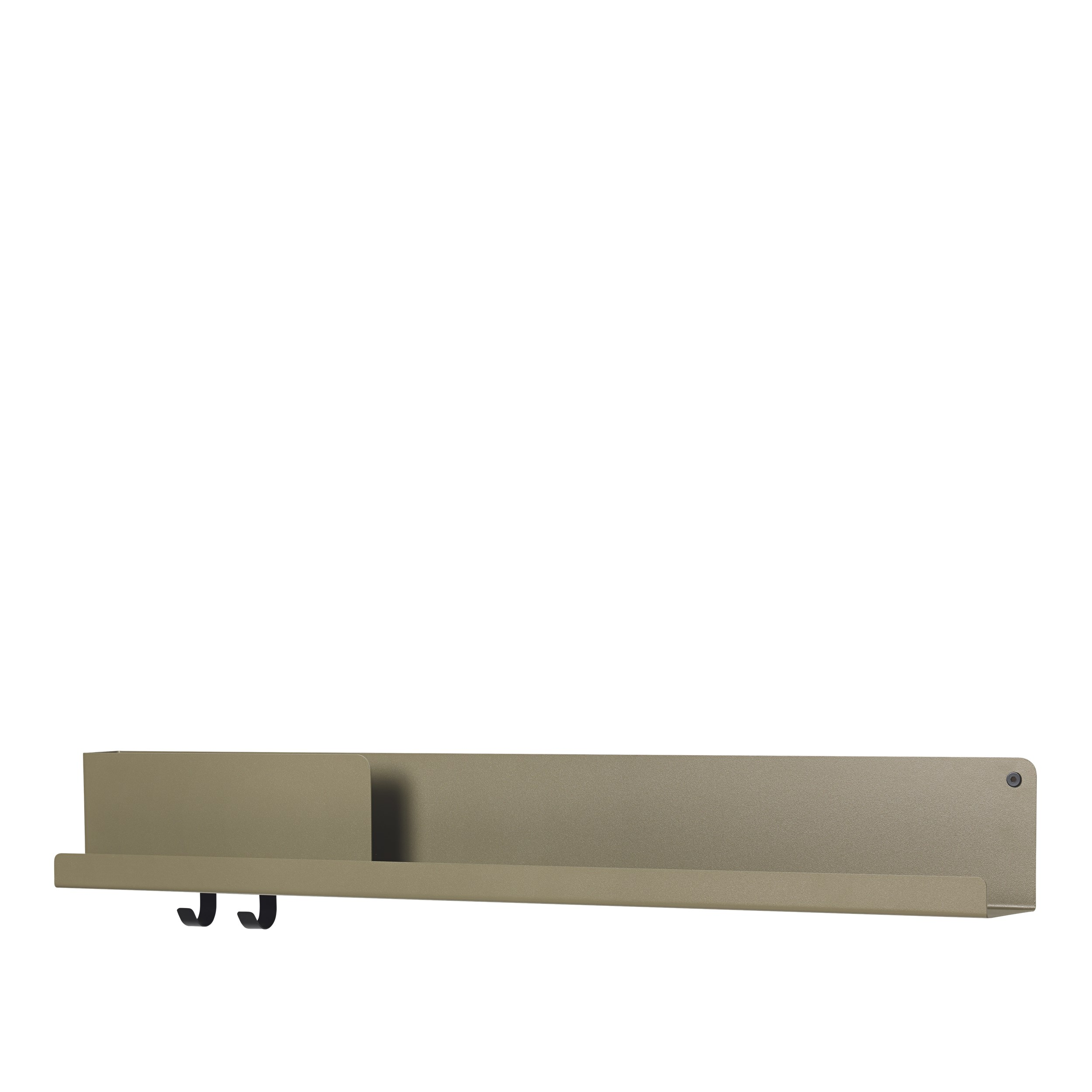 Muuto Folded Shelf Large olive 96cm