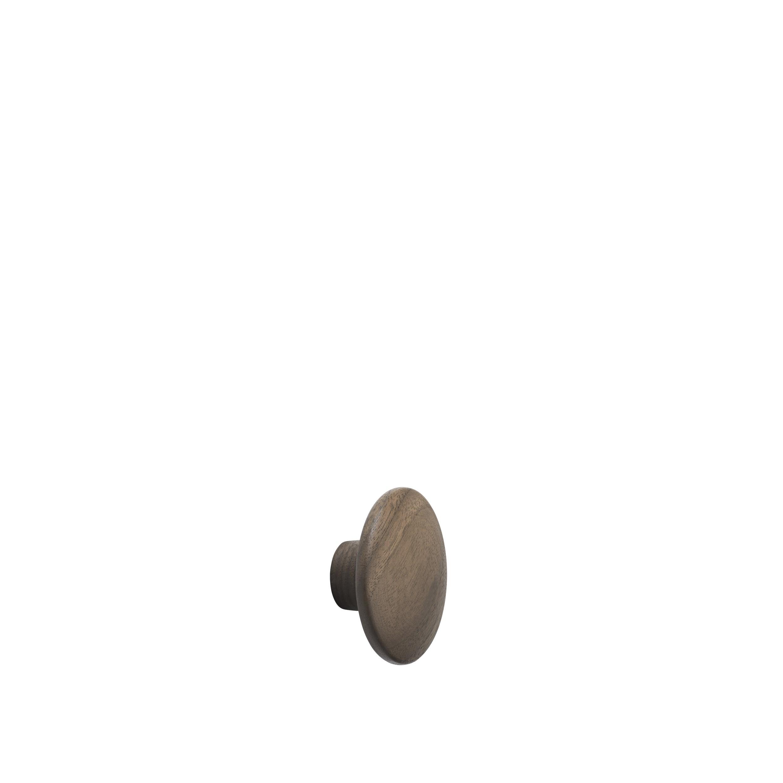 Dot wood X-small Ø 6,5 cm walnut
