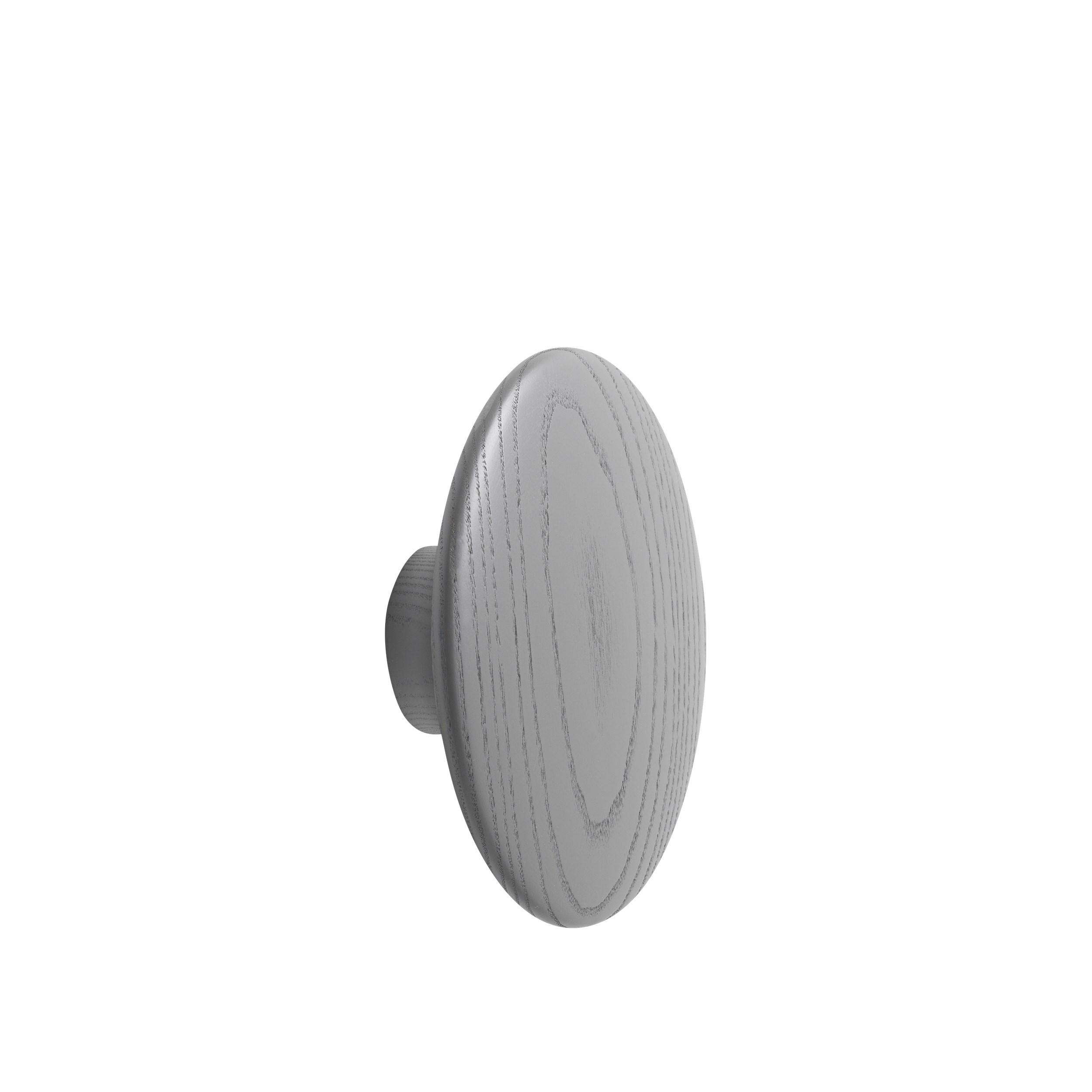 Dot wood large Ø 17 cm dark grey