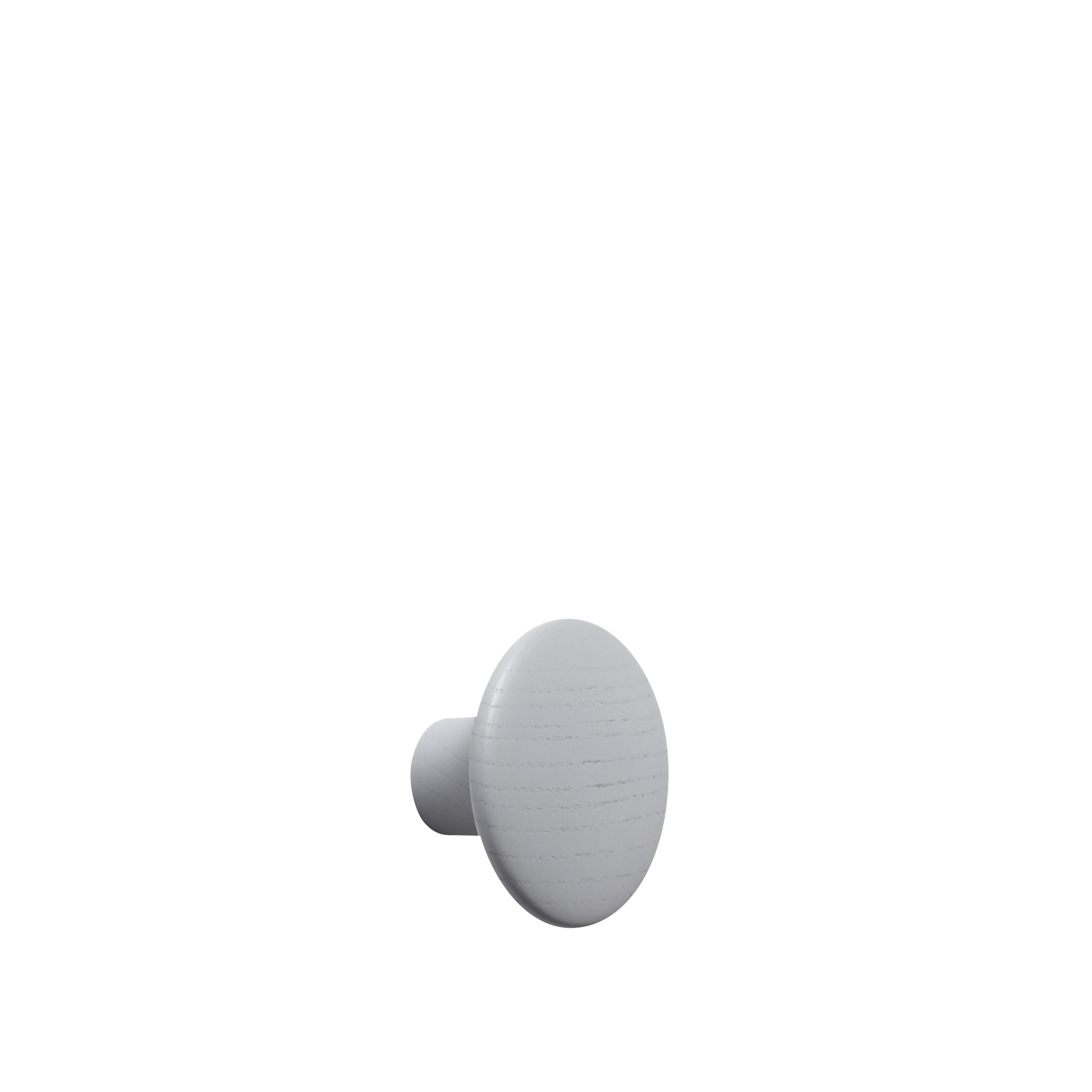 Dot wood small Ø 9 cm grey