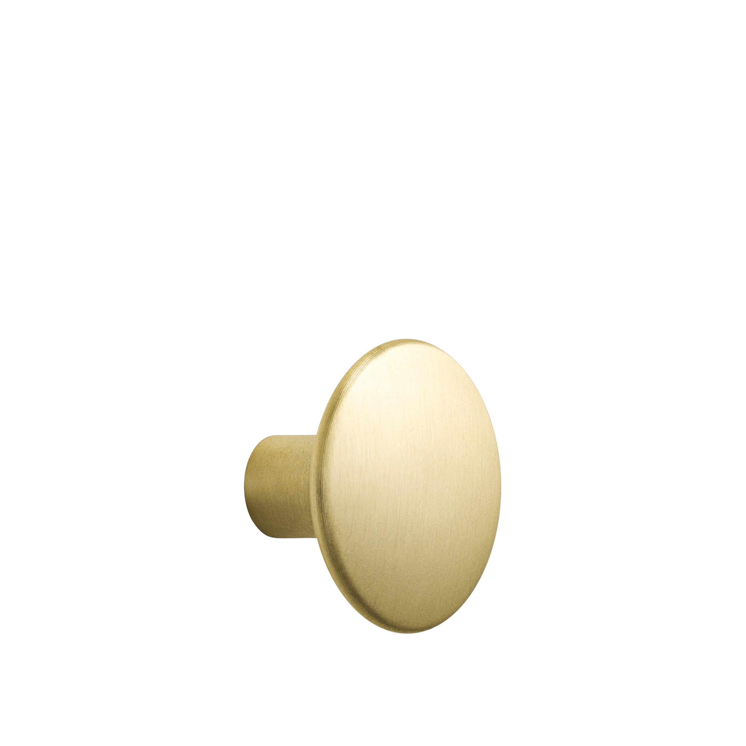 Dots metal large Ø 5 cm brass