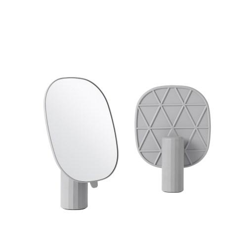 Mimic mirror grey