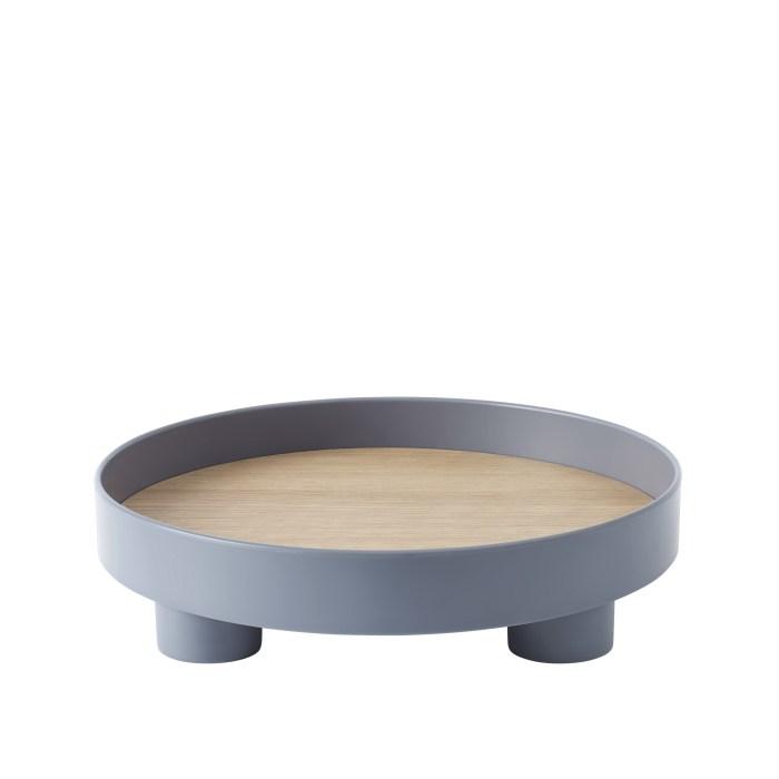 Platform tray blue grey