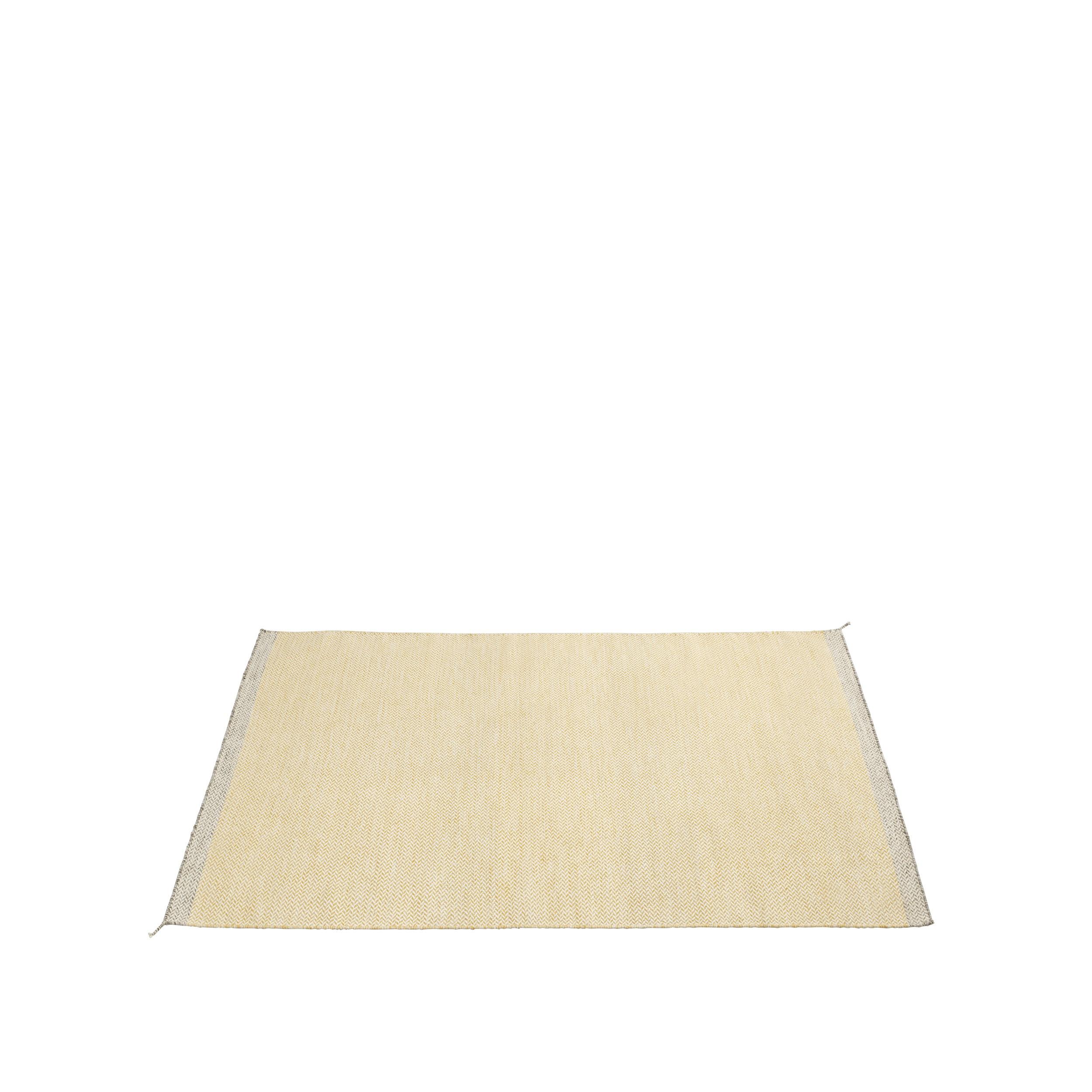 Ply rug 170 x 240 yellow