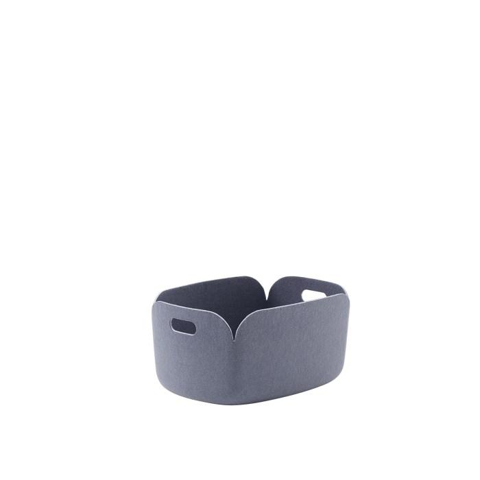 Restore basket blue-grey