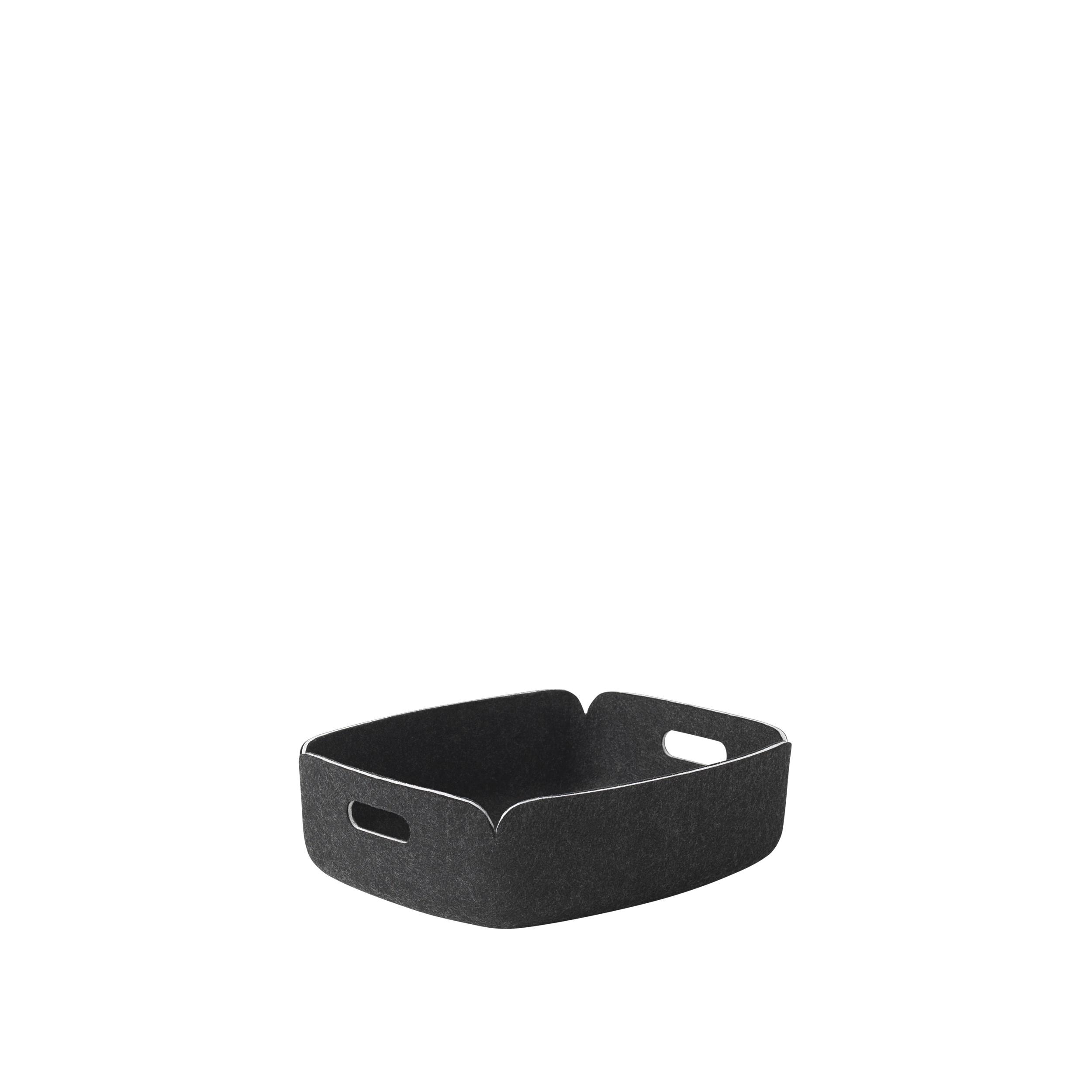 Restore tray black melange