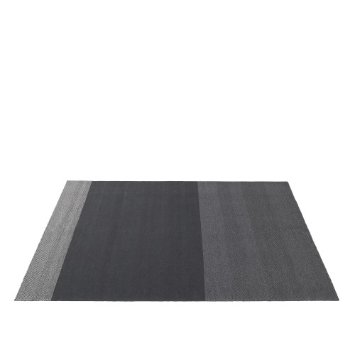 Varjo rug 200 x 300 dark grey