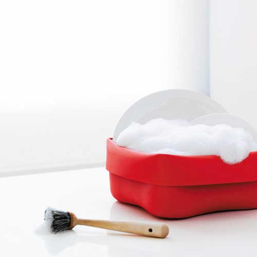 Normann Washing Up Bowl Red
