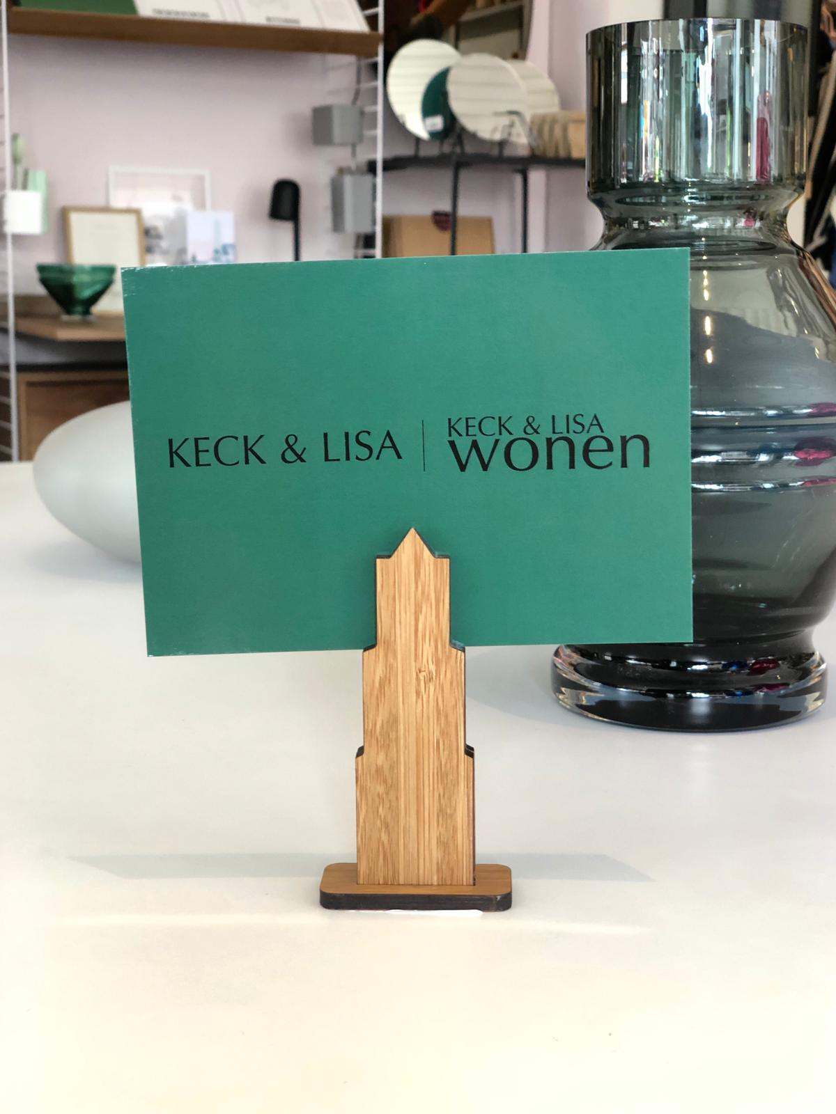 KECK & LISA kaart en foto houder Domtoren M
