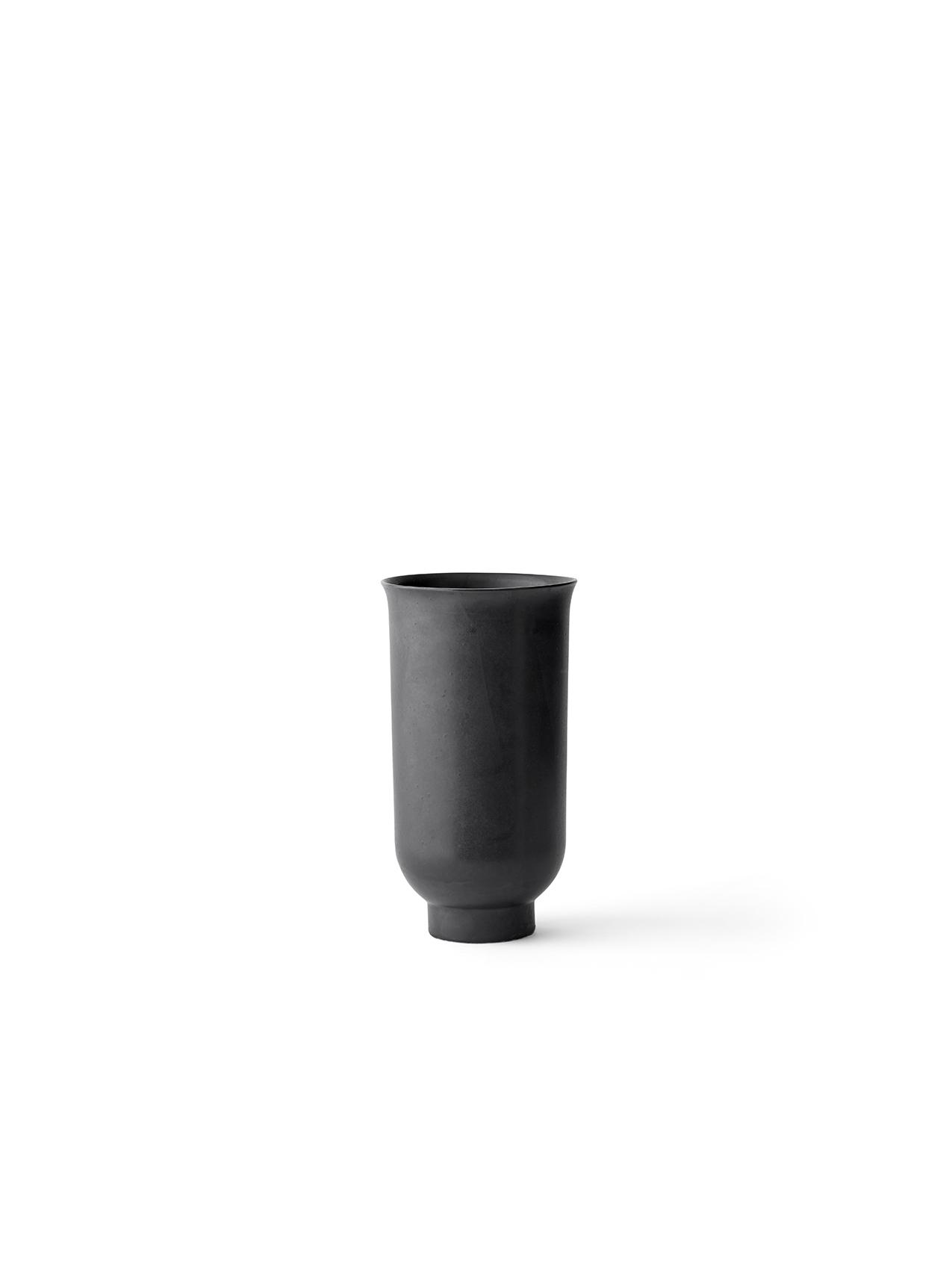 Menu Cyclades Vase S Black