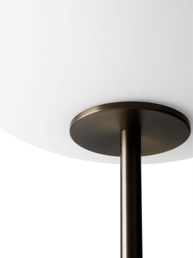 Menu JWDA Floor Lamp Marble/Bronzed Brass