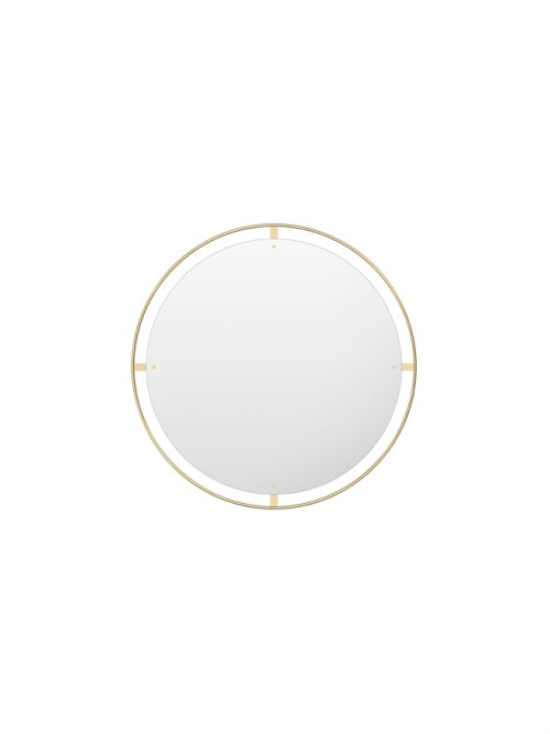 Menu Nimbus Mirror 110 Polished Brass
