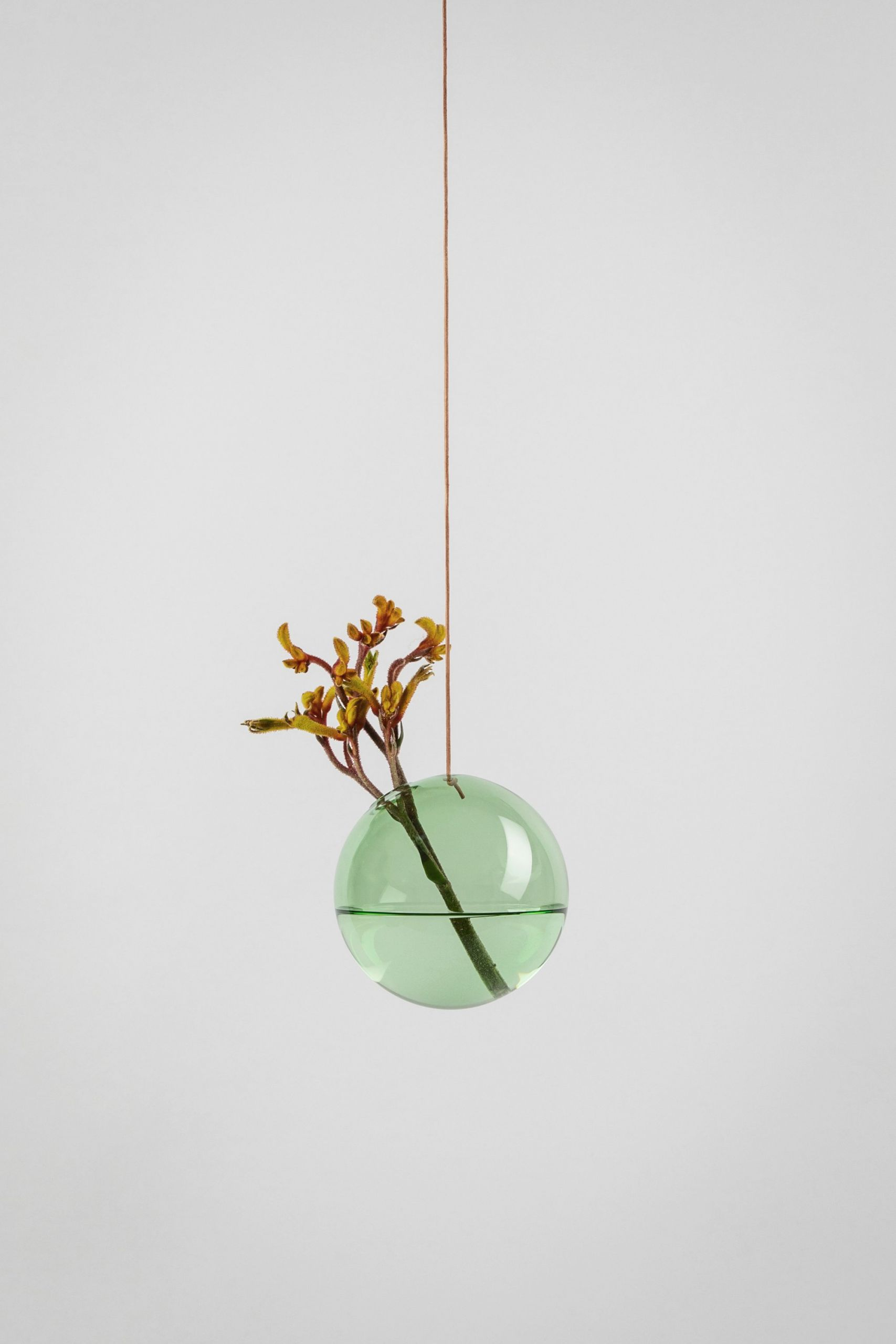 Studio About Bubble Hanging Vase M Green