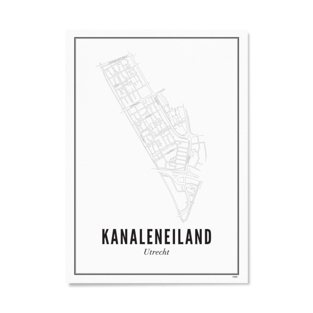 Utrecht Kanaleneiland ansichtkaart